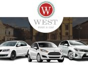 west rent a car